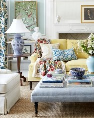 Eclectic And Quirky Living Room Decor Styling Ideas (22)