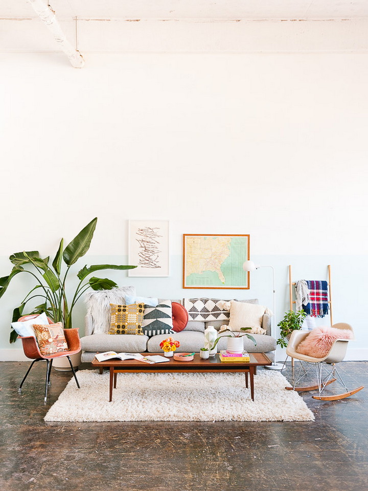 Eclectic And Quirky Living Room Decor Styling Ideas (27)