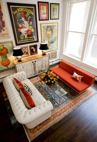 Eclectic And Quirky Living Room Decor Styling Ideas (51)