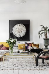 Eclectic And Quirky Living Room Decor Styling Ideas (53)