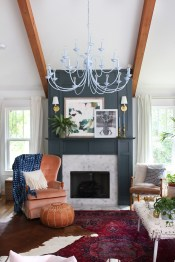 Eclectic And Quirky Living Room Decor Styling Ideas (59)