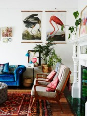 Eclectic And Quirky Living Room Decor Styling Ideas (64)