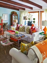Eclectic And Quirky Living Room Decor Styling Ideas (66)