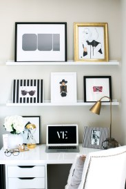 Home Office Decorating Ideas Small Spaces