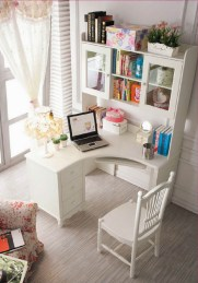 Home Office Ideas In White