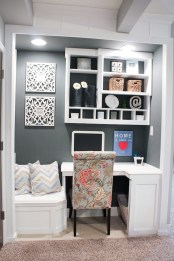Home Office Ideas With Storage