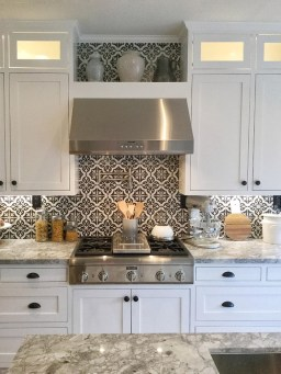 Kitchen Tile Backsplash Ideas Suitable For Your Kitchen (19)