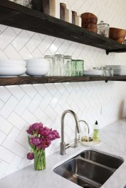 Kitchen Tile Backsplash Ideas Suitable For Your Kitchen (34)