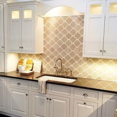 Kitchen Tile Backsplash Ideas Suitable For Your Kitchen (55)