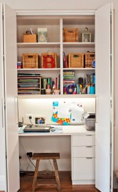 Minimalist Home Office Decorating Ideas Small Spaces With Storate