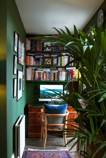 Natural Home Office Ideas In Small Spaces