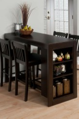 Small Brown Kitchen Table And Chairs With Storage