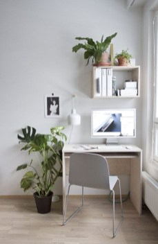 Small Home Office Design Ideas With Plants