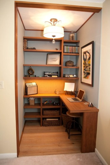 Small Home Office Ideas Corner Desk