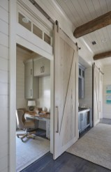 Small Home Office Ideas Sliding Door