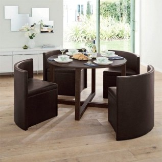 Small Round Compact Kitchen Table And Chairs