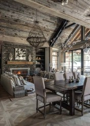 Stunning Rustic Living Room Design Trends and Ideas (20)