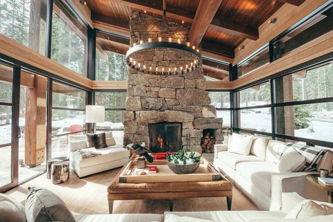 Stunning Rustic Living Room Design Trends and Ideas (51)