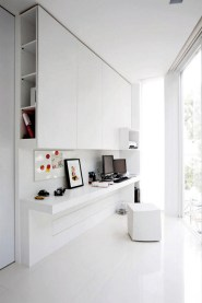 White Home Office Ideas For Small Space