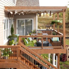 Wooden Deck Decorating Ideas