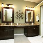 Bathroom Vanity Lights Oil Rubbed Bronze Bronze Bathroom Lights Elegancy And Durability In One Decorideasbathroom Com Best Bath Ideas