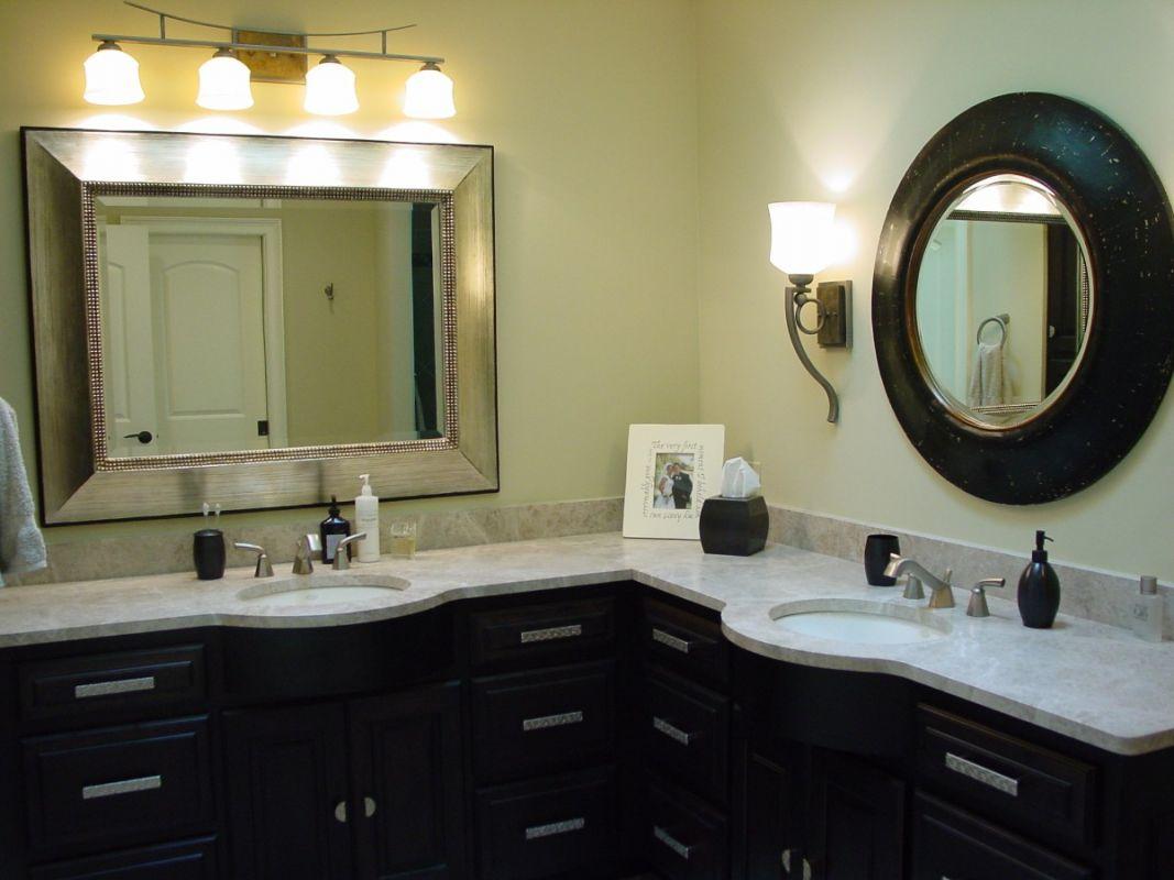 Corner Double Sink Bathroom Vanity Corner Bathroom Vanity Convenient And Stylish Space Saver For Your Bathroom Decorideasbathroom Com Best Bath Ideas