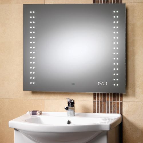 Shower Clock as Modern Bathroom Gadget