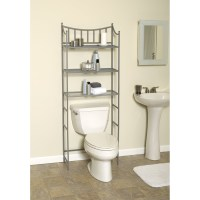 Shelves Over The Toilet As The Additional Storage For ...