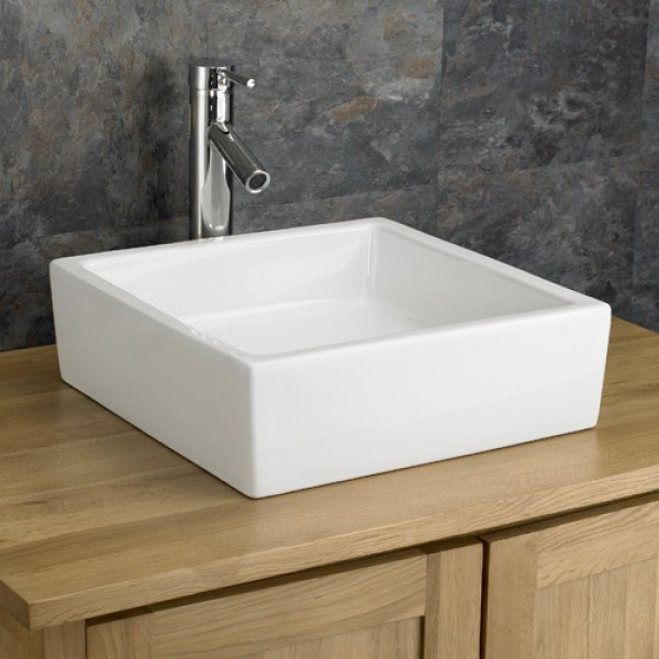 Square Bathroom Sink Contemporary Looking Elegance