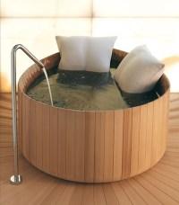 wood japanese soaking tub - Ofuro Soaking Tubs: The Vibe ...
