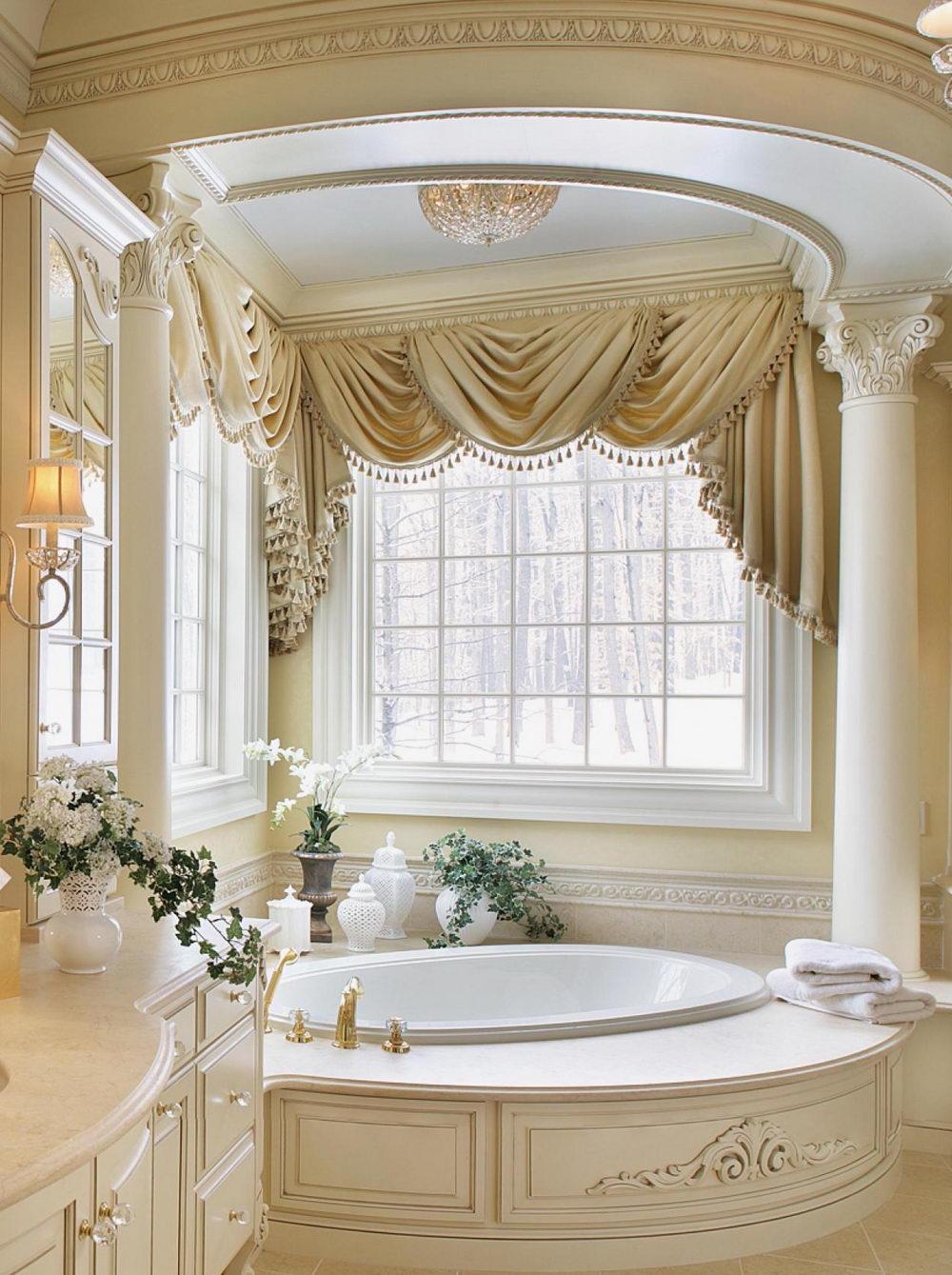 Bathroom Window Curtains  How to Buy  DecorIdeasBathroom