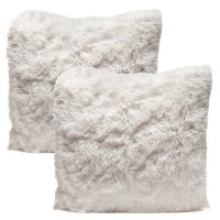 Faux Fur Throw Pillow  Cheap Alternative for Real Fur