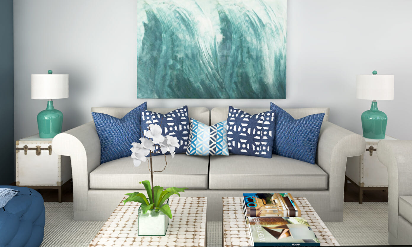 Beach Decor: 3 Online Interior Designer Rooms