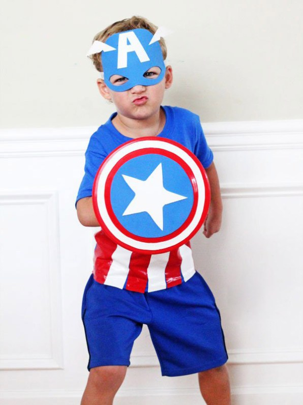 DIY Superhero Costume Captain America