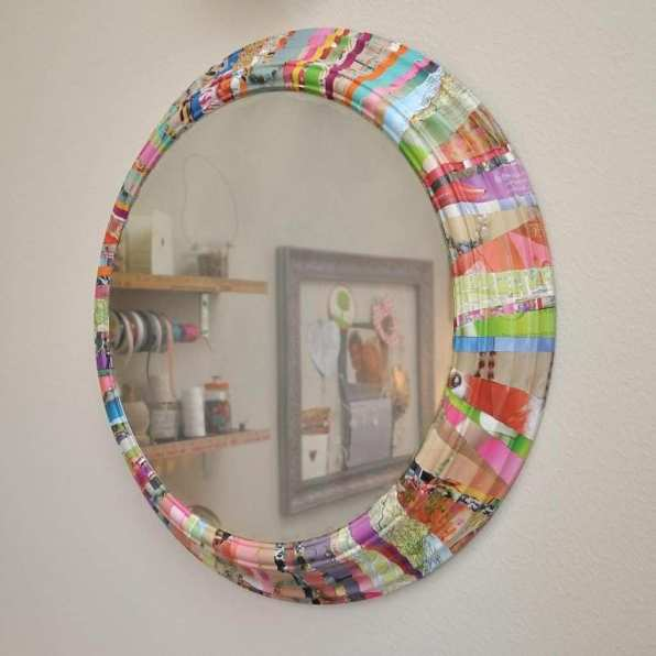 Artistic Colorful Vanity Mirror