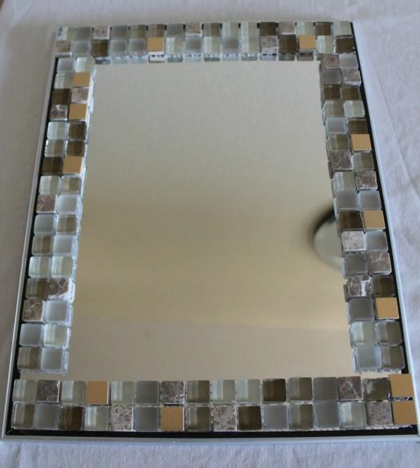 Mosaic Tile DIY Vanity Mirror