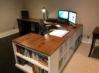 A Perfect DIY Computer Desk for Writers and Researchers