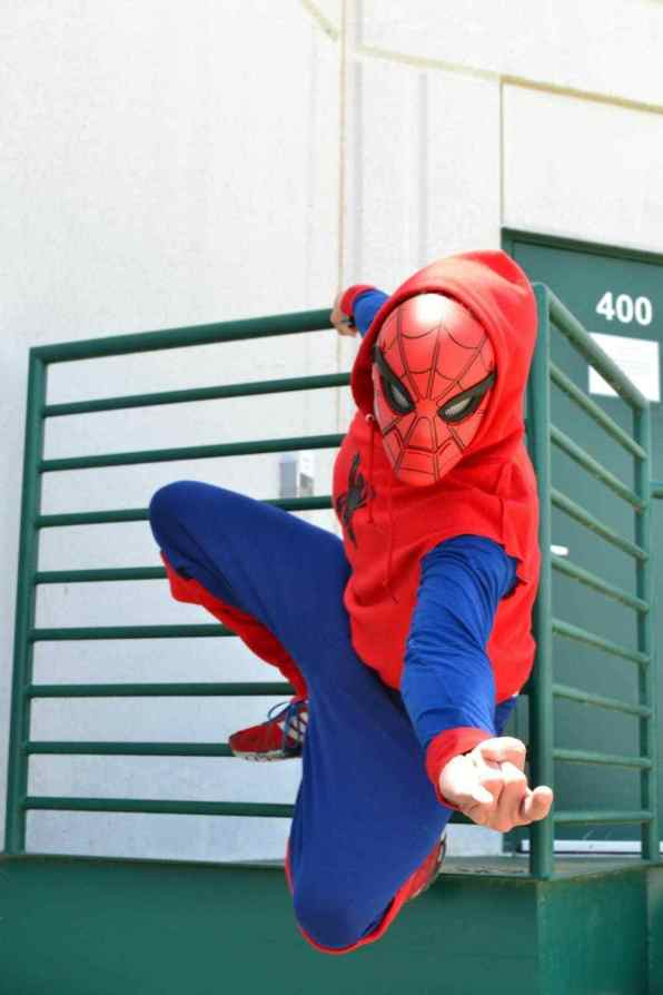 Spiderman DIY Superhero Costume