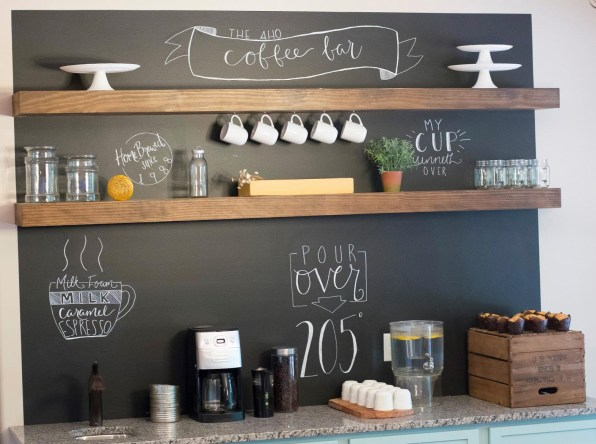 Beautiful Coffee Bar to Start Your Day