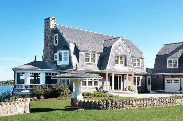 A Beach Cape Cod House