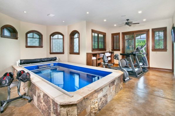 Home Gym with Swimming Pool