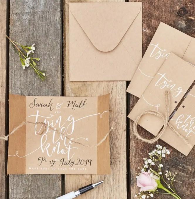 5 Best Diy Wedding Invitation Ideas On The Budget Decorilo Com