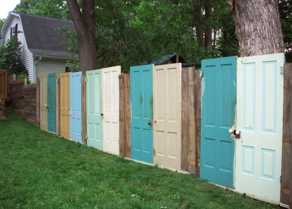The Old Door Fence Ideas