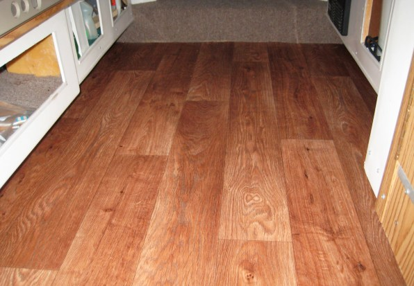 The Faux Wood Flooring