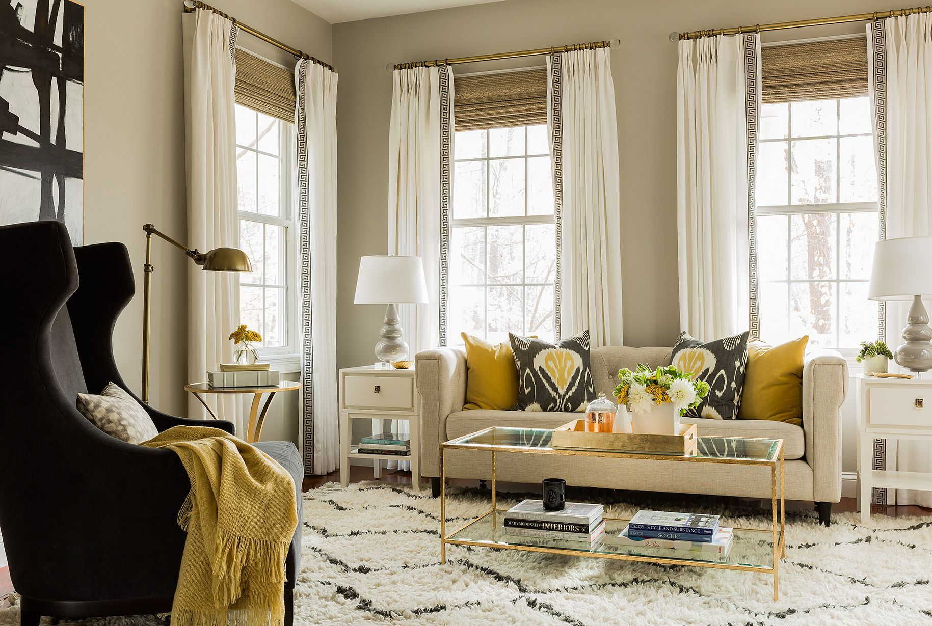 How to Choose Curtains for Living Room - Some Great Ideas ...