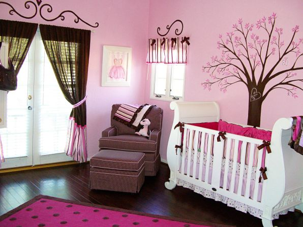 Convert a spare room into an amazing girl nursery