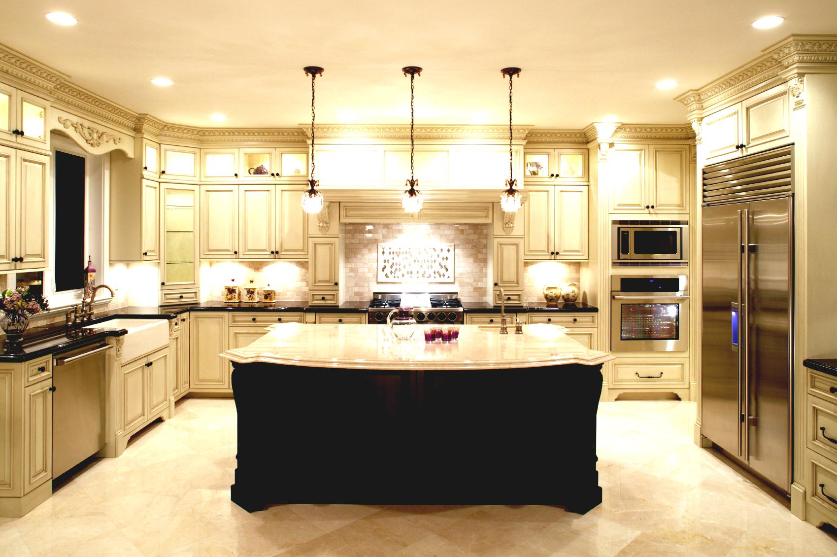 U Shaped Kitchen Island Layouts