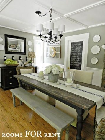 +14 That Will Make You Dining Room Decor Farmhouse Joanna Gaines 33