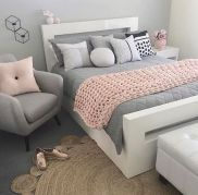 + 15 Essential Things For Grey And White Bedroom Ideas Teen Girl Rooms Gray 38