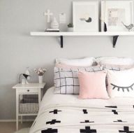 + 15 Essential Things For Grey And White Bedroom Ideas Teen Girl Rooms Gray 50